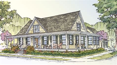 Farmhouse Houseplans Southern Living Idea House 2012 Tracery Interiors