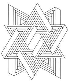 illusion coloring pages free optical illusion coloring pages coloring home