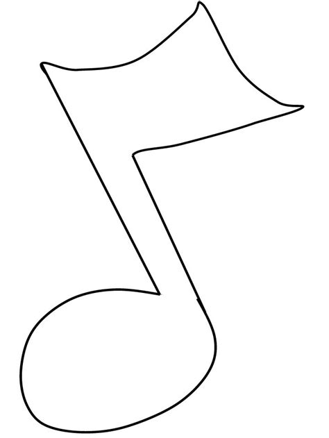 Musical Note Card Template by 17 Best Images About Musical Note Templates On
