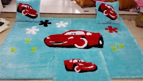 Karpet Karakter Minimalis model karpet bulu karakter cars interior rumah 2579