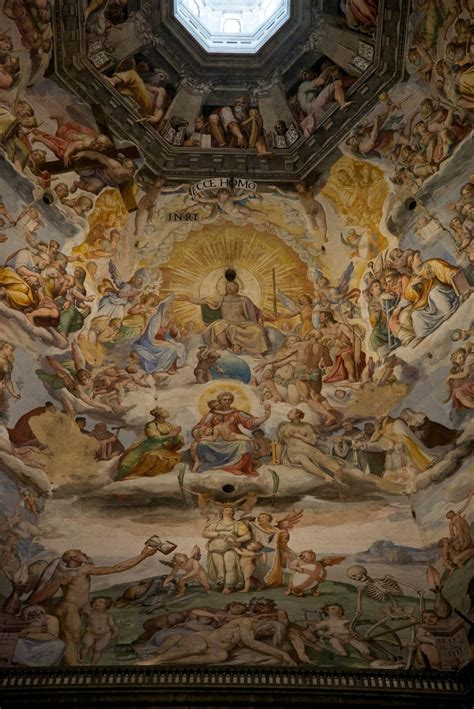 duomo florence dome ceiling fresco things to see in florence piazza duomo cathedral square