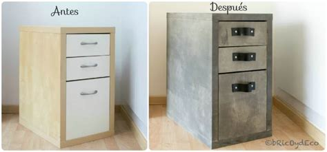 chalk paint en muebles ikea como transformar un mueble de melamina con chalk paint