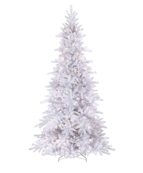 white pre lit tree pre lit tree with white and colored lights festival collections