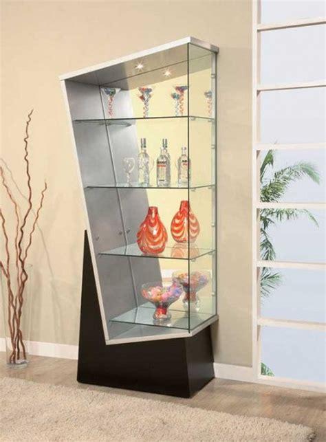 modern curio cabinet ideas crystal glass display cabinet house decor ideas