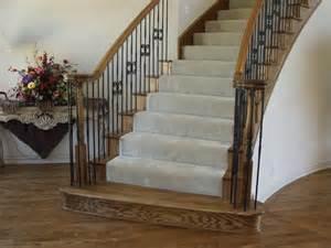 Round Stair Railing by Round Iron Stair Railing Wrought Iron Stair Railing