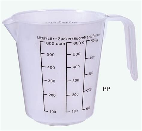 hot 6set pp measuring cup with handle buy plastic cup with handle plastic measuring cup with