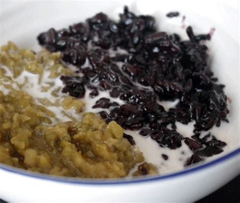 resep membuat bubur kacang hijau dan ketan hitam resep bubur kacang ijo ketan hitam spesial madura resep