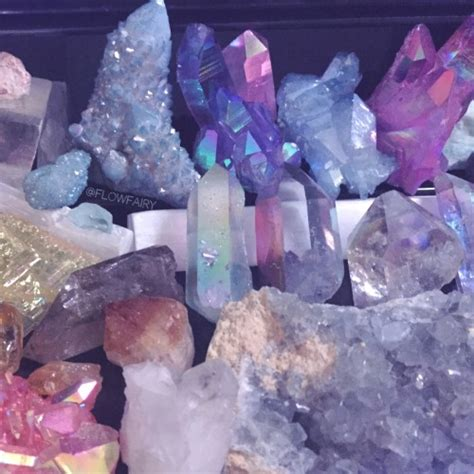 aura crystals angel aura spirit quartz cluster tumblr