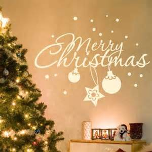 christmas wall decoration ideas 10 christmas decorating ideas with wall stickers shelterness