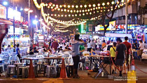 the street of bukit bintang kuala lumpur malaysia the kl jalan alor food trip lakad pilipinas