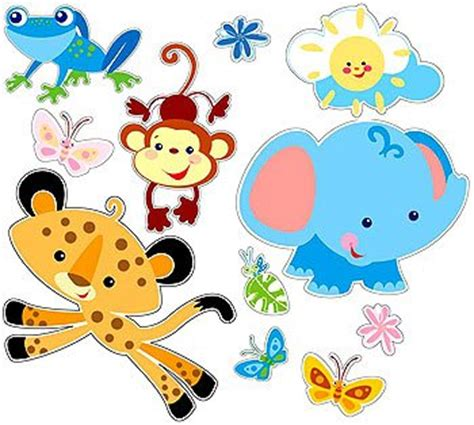 fisher price wall stickers animals of the forest fisher price wall stickers