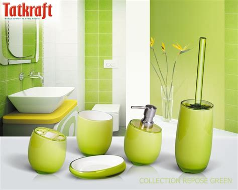 green bathroom decor 17 best images about acrylic bathroom accessories on