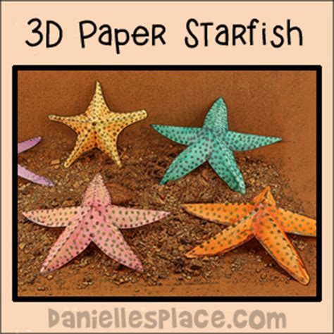 How To Make Starfish With Paper - vacation bible school vbs 2016 crafts and activities