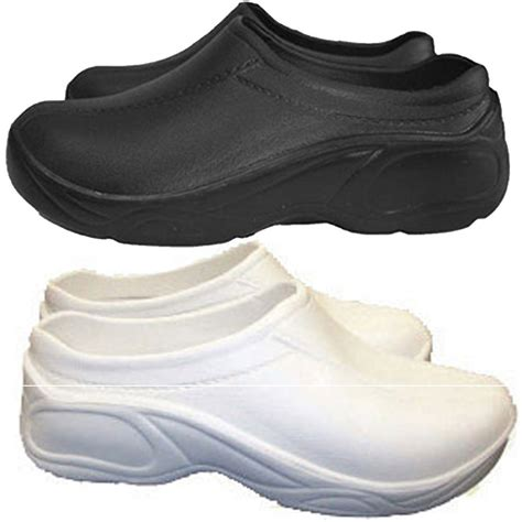 clogs shoes for nursing womens comfortable strapless lightweight slip