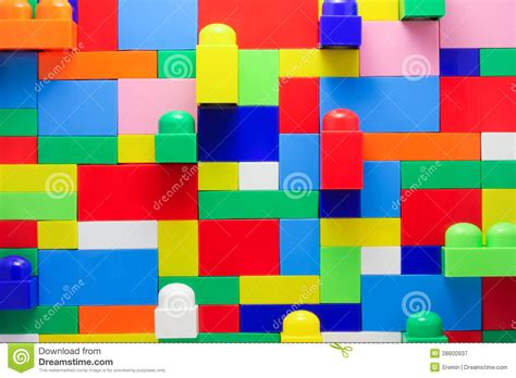 wall of lego blocks stock image image of architecture 28800937