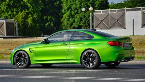 green bmw m4 java green bmw m4 spotted in warsaw