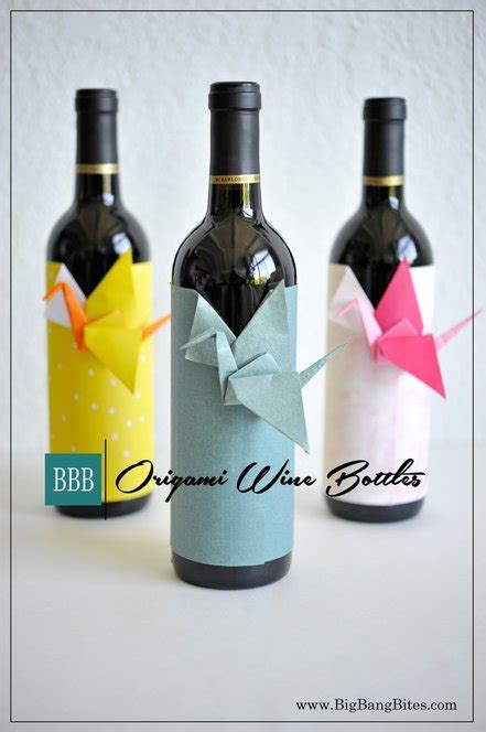 Origami Wine Bottle - origami wine bottle 28 images wine label origami