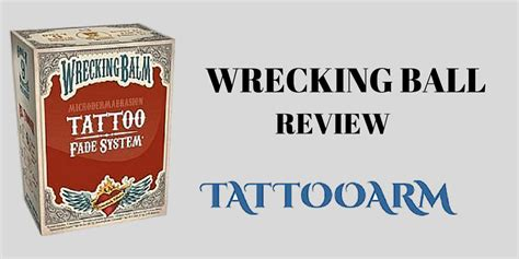 wrecking ball tattoo remover awesome wrecking balm removal gallery styles