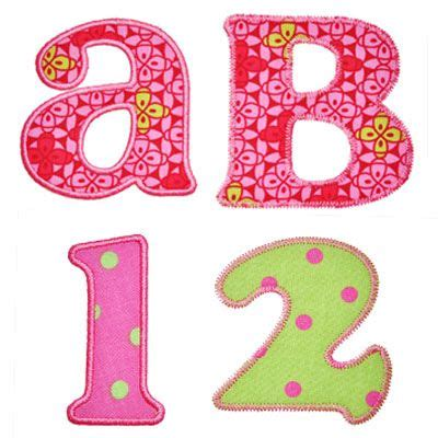 alphabet applique templates 17 best ideas about applique letters on