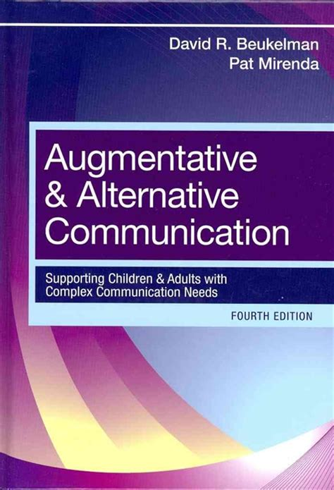 augmentative and alternative communication supporting