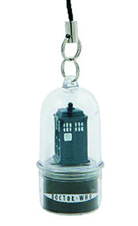 Dr Who Phone Charms Spin And Flash To Alert You Of Incoming Calls by Oct121755 Doctor Who Rotating Tardis Led Cell Phone