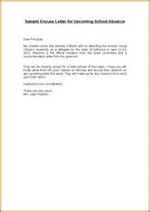 9 excuse letter for vacation sample lease template