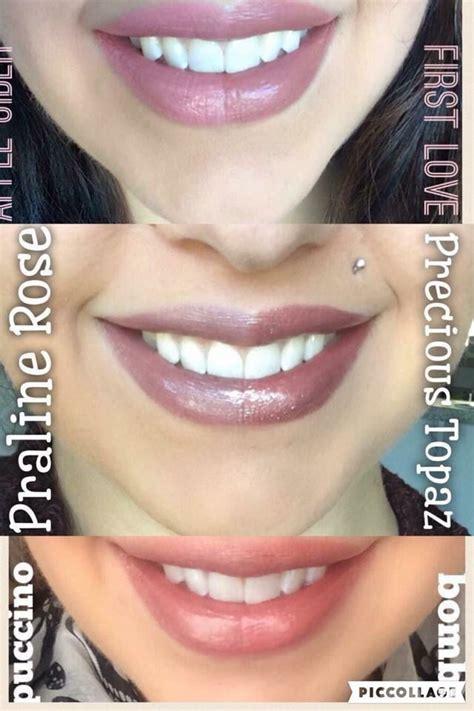color comparison side by side lipsense color comparison shop laliplounge