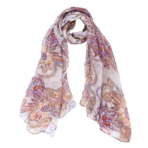 Gradient Chiffon Scarf gradient color wrap s shawl chiffon scarf