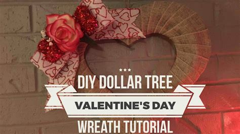 dollar tree s day diy dollar tree s day wreath tutorial february 3