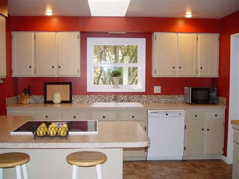 red kitchen paint ideas kitchen tips to paint old kitchen cabinets ideas paint