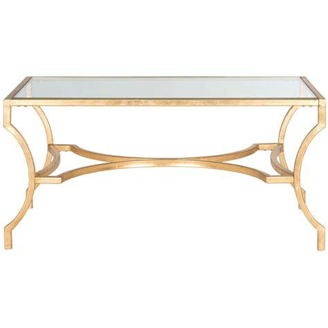 safavieh gold coffee table safavieh alphonse gold coffee table fox2541a the home depot