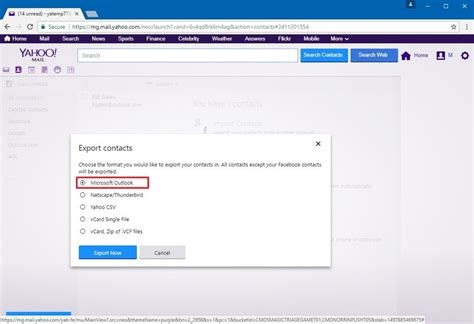 yahoo email get how to get your yahoo email contacts and calendars using