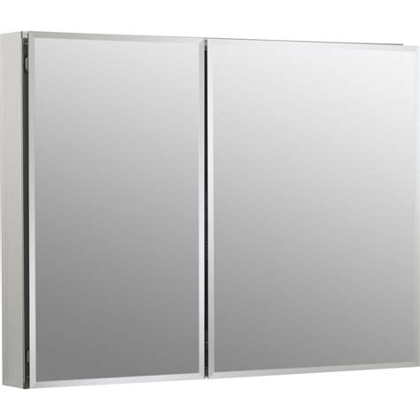shop kohler 35 in x 26 in metal surface mount and recessed