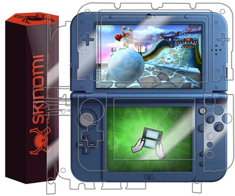 Screen Protector New 3ds Xl skinomi techskin new nintendo 3ds xl skin protector 2015
