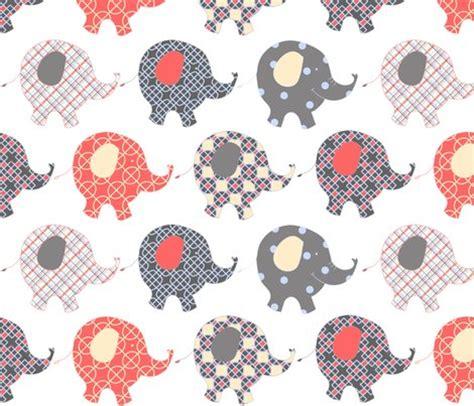 fabric elephant pattern free baby elephants fabric mymagicmom spoonflower