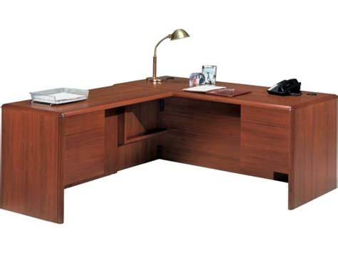 l shape executive office desk l return tray pfro 2263l