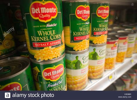 can my eat canned corn cans of monte and other brands of canned corn are seen in a stock photo royalty