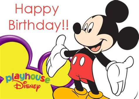 Mickey Mouse Wishing Happy Birthday Mickey Mouse Birthday Wishes Google Search Birthday