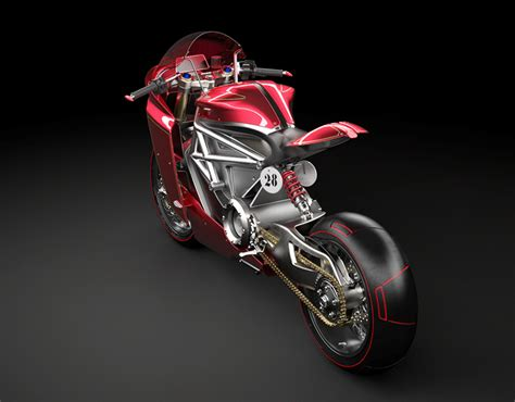 ducati monster aerokit ev   behance