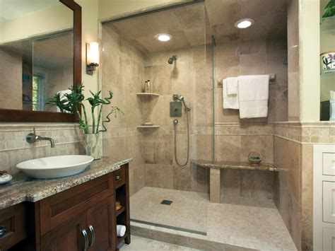 remodeling bathroom shower ideas sophisticated bathroom designs hgtv