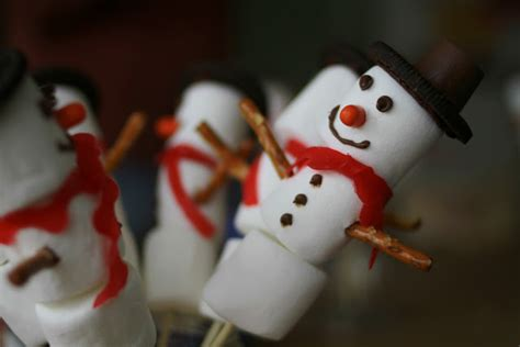marshmallow crafts for xmas last minute classroom treats