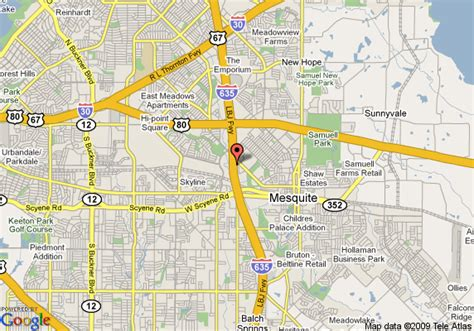 map of mesquite tx map of comfort inn mesquite mesquite