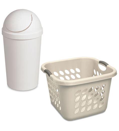 Sterilite Laundry Basket Waste Basket Combo By Sterilite Sterilite Laundry