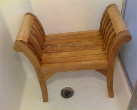dark teak shower bench teak shower bench and black mold house design and office