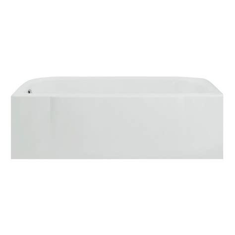 sterling accord 5 ft vikrell left drain bathtub in