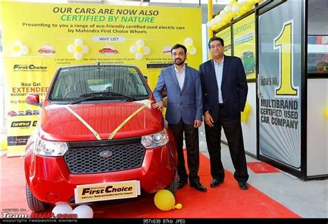 mahindra pre owned cars mahindra opens dealership for pre owned electric vehicles