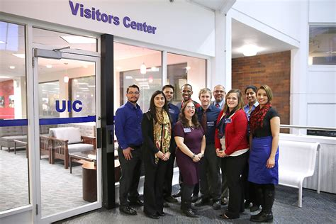 Uic Admissions Office by New Visitors Center Offers Warm Welcome To Uic Uic Today
