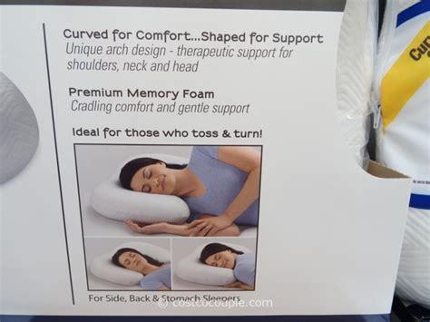 novaform comfort curve pillow novaform memory foam comfort curve pillow