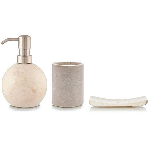 Luxury By George Home Marble Bath Accessories Range The Range Bathroom Accessories