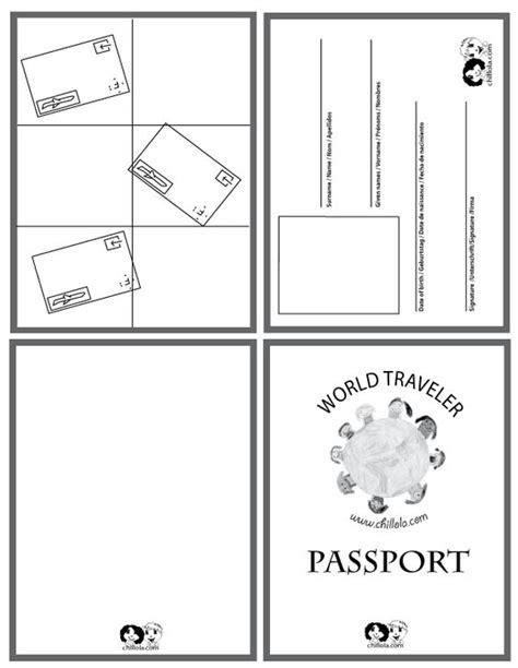 passport template passport for kids passport http